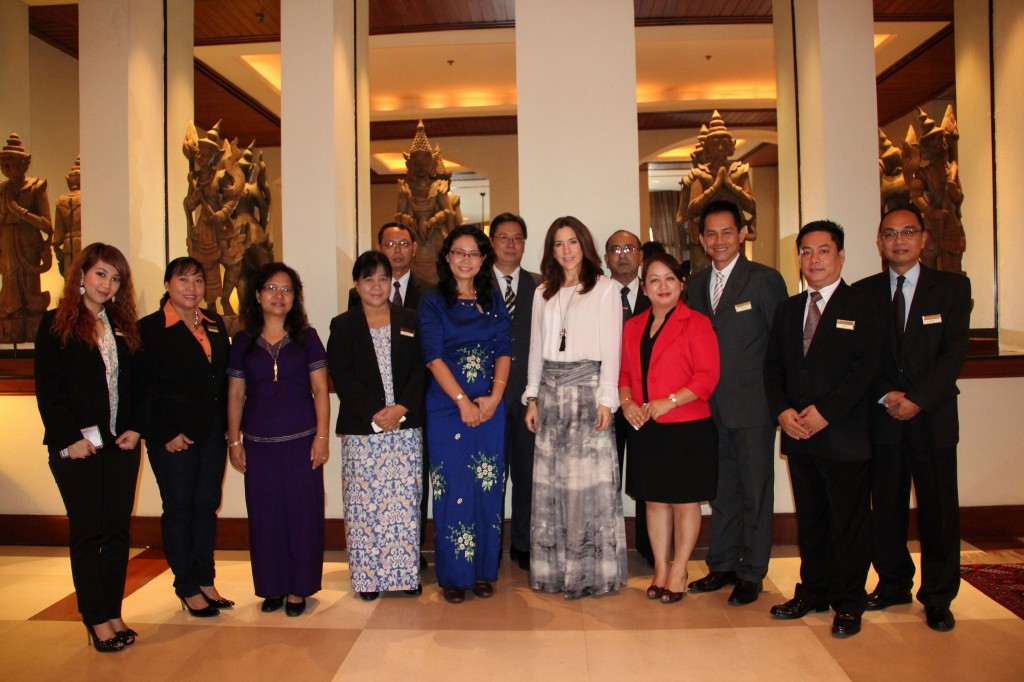 HRH Crown Princess of Denmark and President of Germany Stayed at Chatrium Hotel Royal Lake Yangon During Their Recent Official Visits to Myanmar