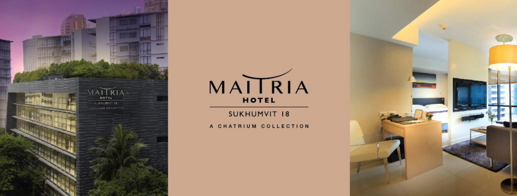Chatrium Hotels & Residences Acquires Its First Mid-Scale Property with Maitria Hotel Sukhumvit 18 – A Chatrium Collection