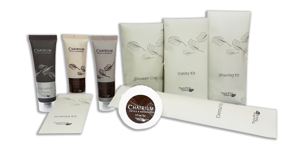 Chatrium Hotels and Residences New Line of Eco-friendly Amenities