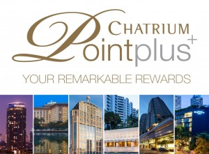 Double Points Offer on  Chatrium Point Plus+ for Every Stay and Event at Chatrium Hotels & Residences