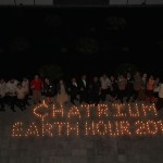 A Remarkable moment of Chatrium Earth Hour 2015