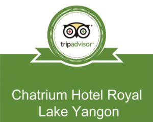 CHATRIUM HOTEL ROYAL LAKE YANGON AWARDED 2015 TRIPADVISOR CERTIFICATE OF EXCELLENCE