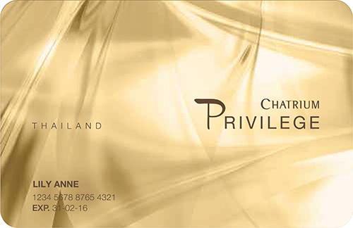 CHATRIUM HOTELS & RESIDENCES LAUNCHES PRIVILEGE CARD - THAILAND DINING MEMBERSHIP PROGRAMS