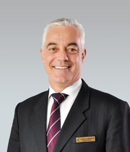 Service with Excellence! Adrian Brown, General Manager of Chatrium Hotel Riverside