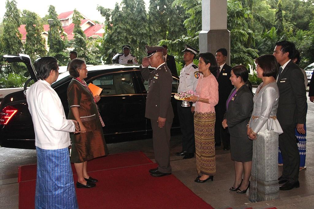HER ROYAL HIGHNESS PRINCESS MAHA CHAKRI SIRINDHORN STAYED AT CHATRIUM HOTEL ROYAL LAKE YANGON2