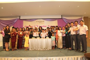 A LAUNCH OF CHATRIUM CSR TOGETHER PROGRAM