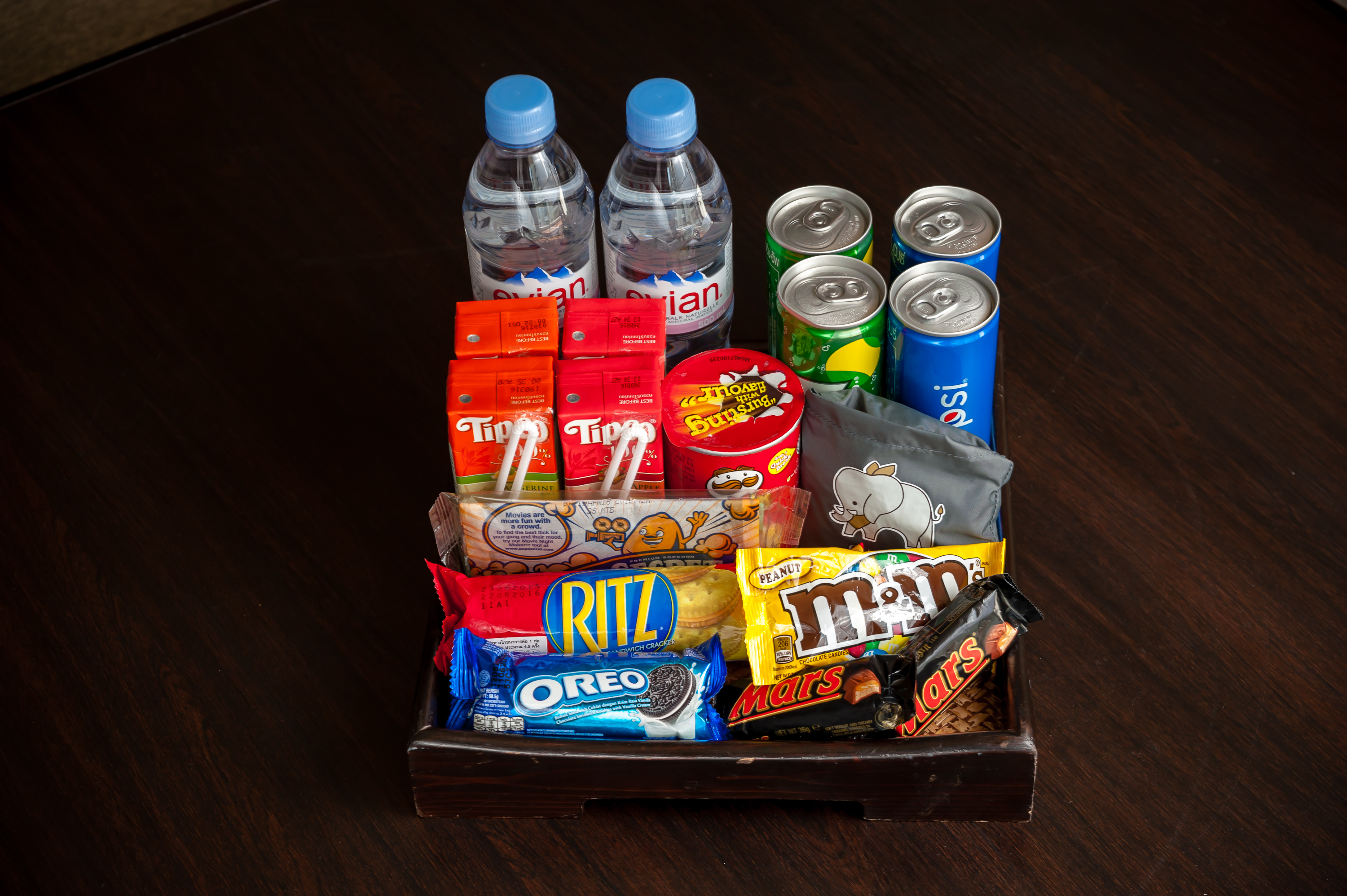 Mini Bar Package provided by Chatrium Hotels and Residences