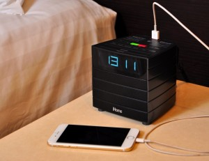 CHATRIUM HOTELS AND RESIDENCES  LAUNCH DIGITAL ALARM RADIO AND CHARGE PORT