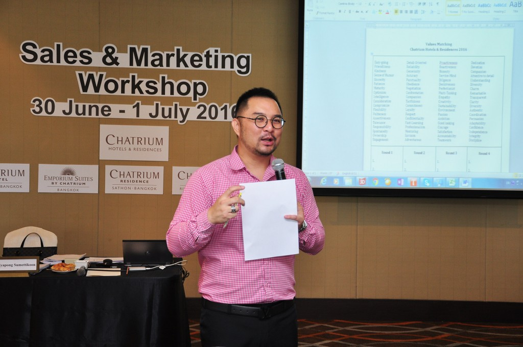 sales & marketing workshop 3