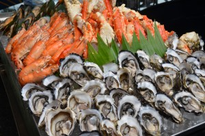 Seafood Buffet at Sunday Brunch at Chatrium Hotel Riverside Bangkok