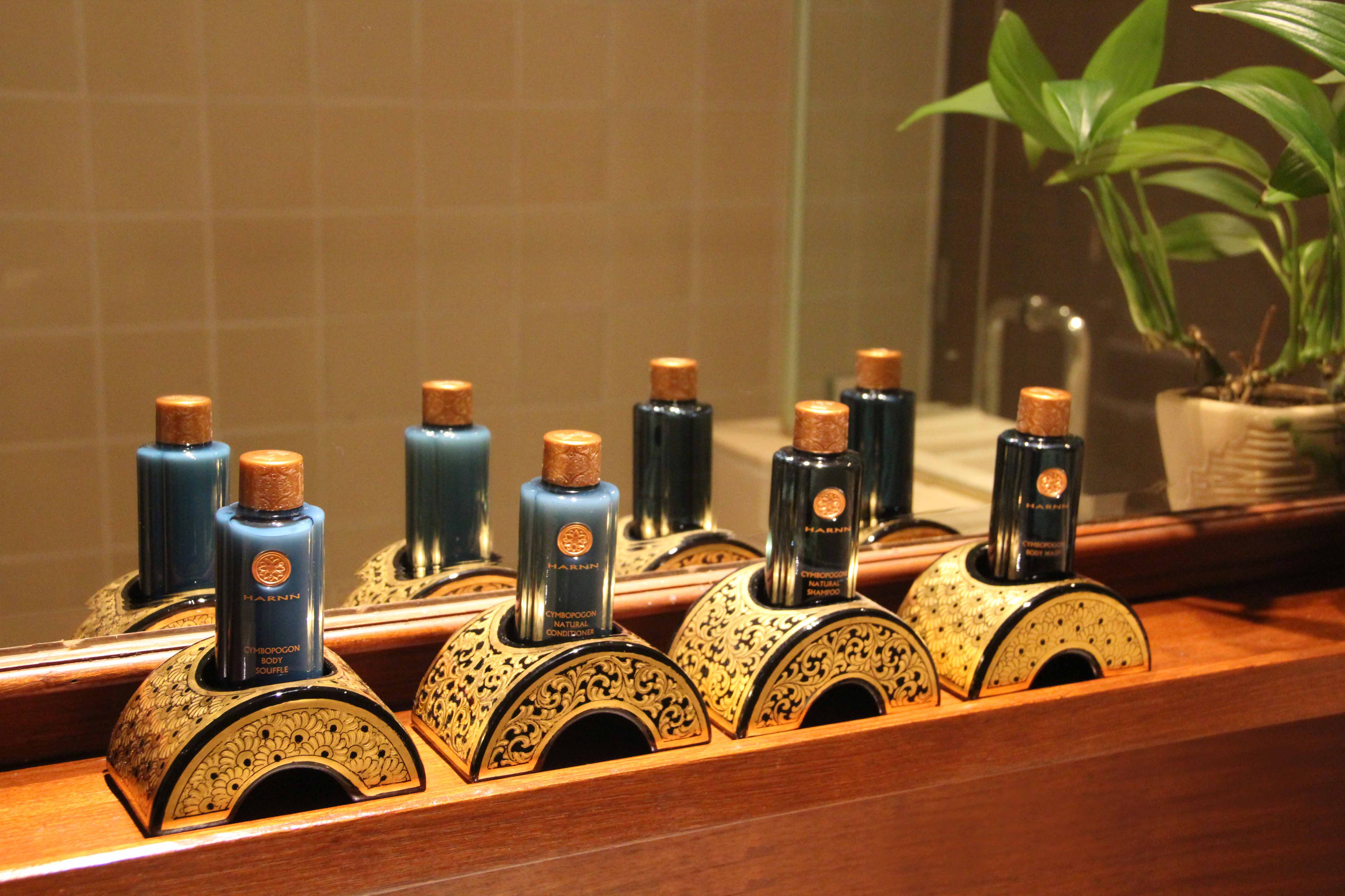 Lavish Toiletries in Chatrium Hotel Royal Lake Yangon