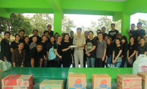 CHATRIUM HOTELS & RESIDENCES CARES AND SHARES WITH COMMUNITY