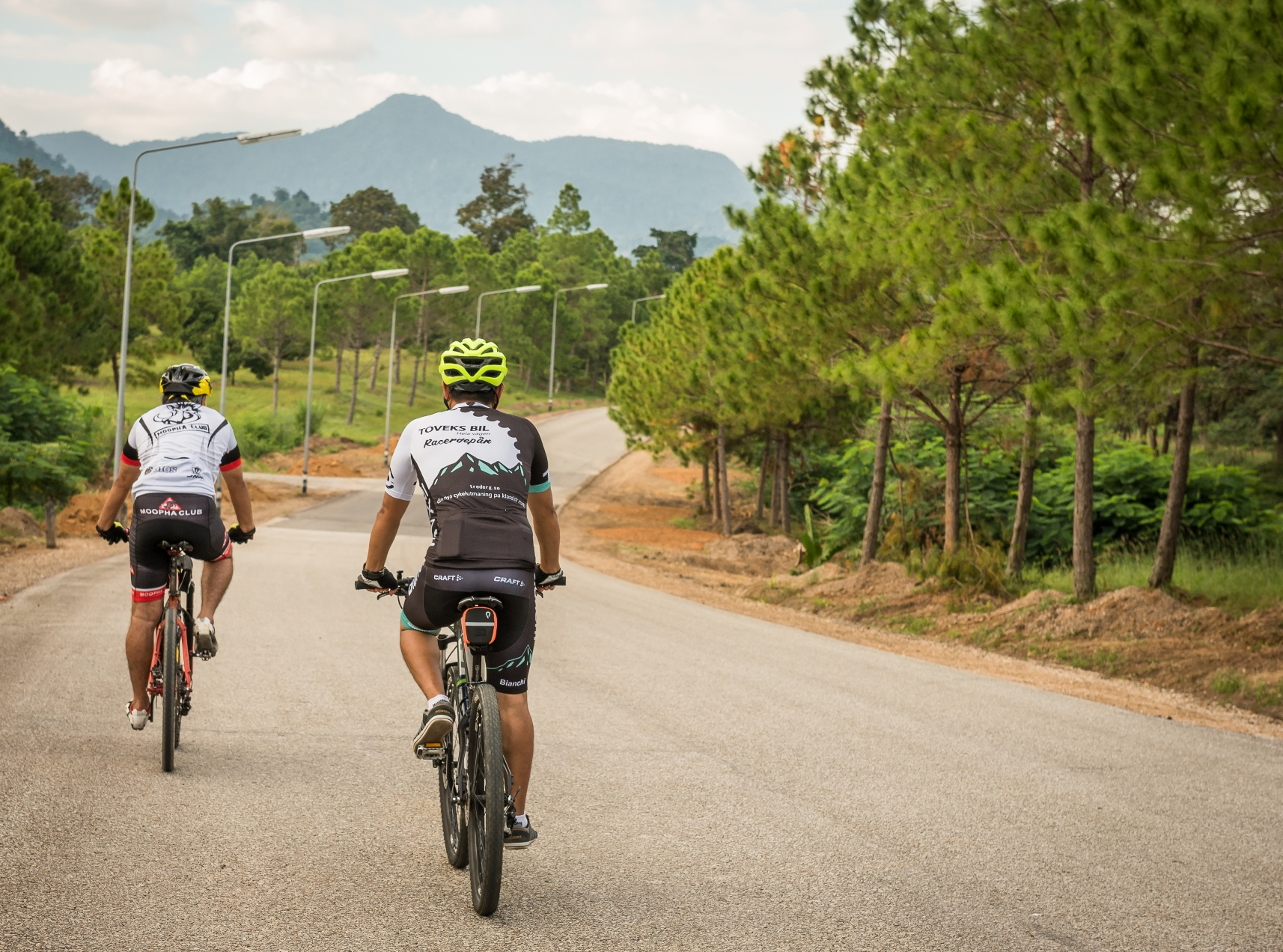 Cycling Tracks at Chatrium Golf Resort Chanthaburi