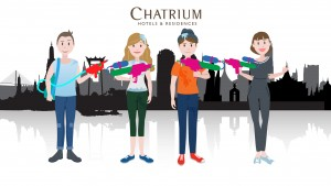CHATRIUM CORDIALLY INVITES YOU TO THE WORLD'S BIGGEST PARTY!