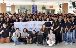 Chatrium Hotels and Residences Donates to the Redemptorist Foundation for People with Disabilities