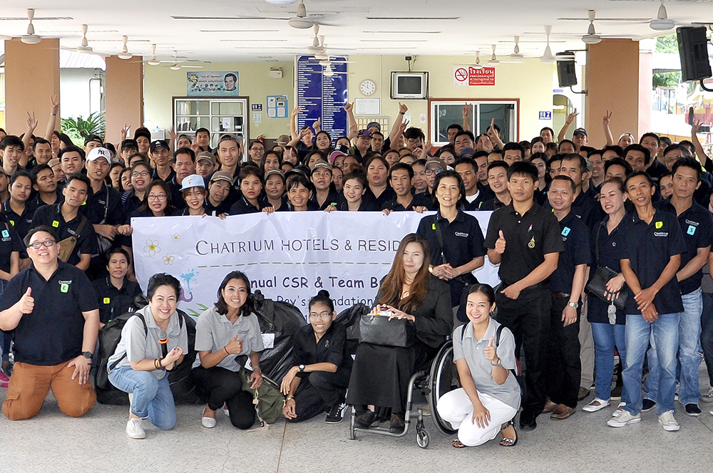 The Redemptorist Foundaiton CSR Event by Chatrium Hotels and Residences
