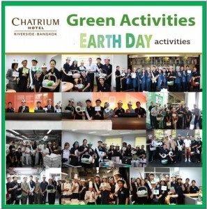Think First, Think Earth at Chatrium Hotel Riverside Bangkok