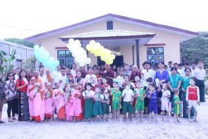 CHATRIUM HOTEL ROYAL LAKE YANGON HELD A MULTIPURPOSE BUILDING HANDING OVER CEREMONY AT NAWARAT MONASTIC SCHOOL