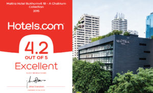 Maitria Hotel Sukhumvit 18's Loved by Hotels.com Guests!