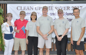 """Clean Up the River 2017"" at Chatrium Hotel Riverside Bangkok"