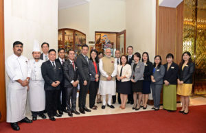 Chatrium Hotel Royal Lake Yangon Welcomes the Prime Minister of India