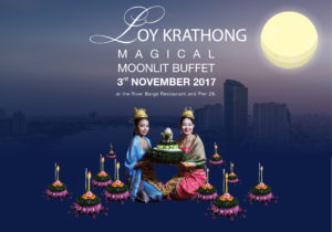 A Magical Loy Krathong in Bangkok by the Magical Chao Phraya River