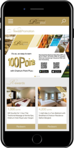 It's Never Been Easier to Earn Free Points with the Chatrium Point Plus App!