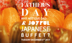 Dad's the One and Only at Chatrium on Father's Day 2017