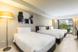 A Perfect Room for Family – Triple Room  At Maitria Hotel Sukhumvit 18