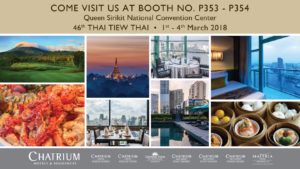 Hot Summer Deals From Chatrium at the 46th Thai Tiew Thai Fair!
