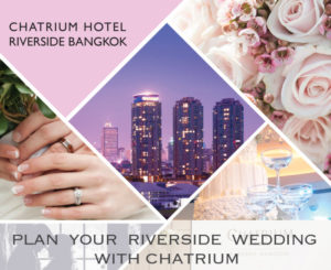 Captivating Riverside Charm at the Wedding Fair 2018 at Chatrium Hotel Riverside Bangkok