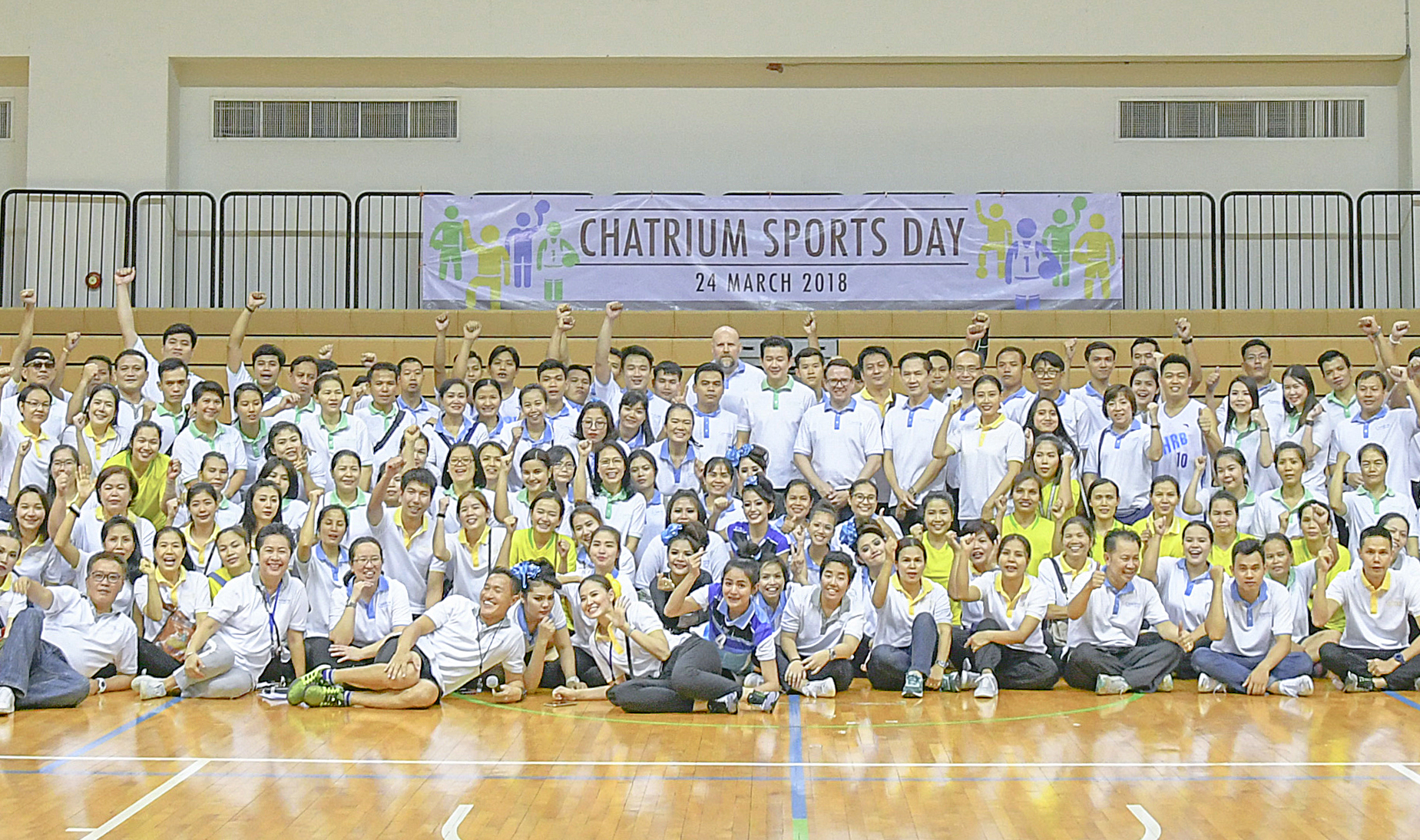 Chatrium Hotels & Residences Employees Come Together For Chatrium Sports Day At CU Sport Complex