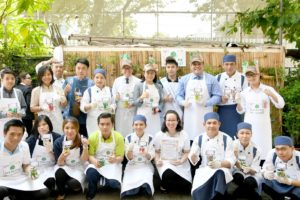Celebrating Earth Day with a Kitchen Garden Workshop  At Chatrium Hotel Riverside Bangkok