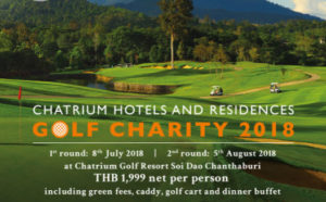 Chatrium Hotels & Residences Golf Charity 2018