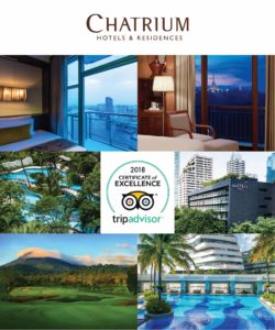 Six Chatrium Properties Receive TripAdvisor Certificate of Excellence 2018